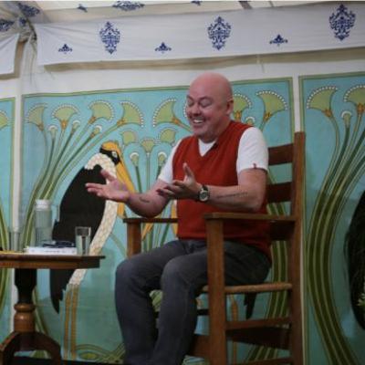John Boyne interviewed by Petroc Trelawny at North Cornwall Book Festival