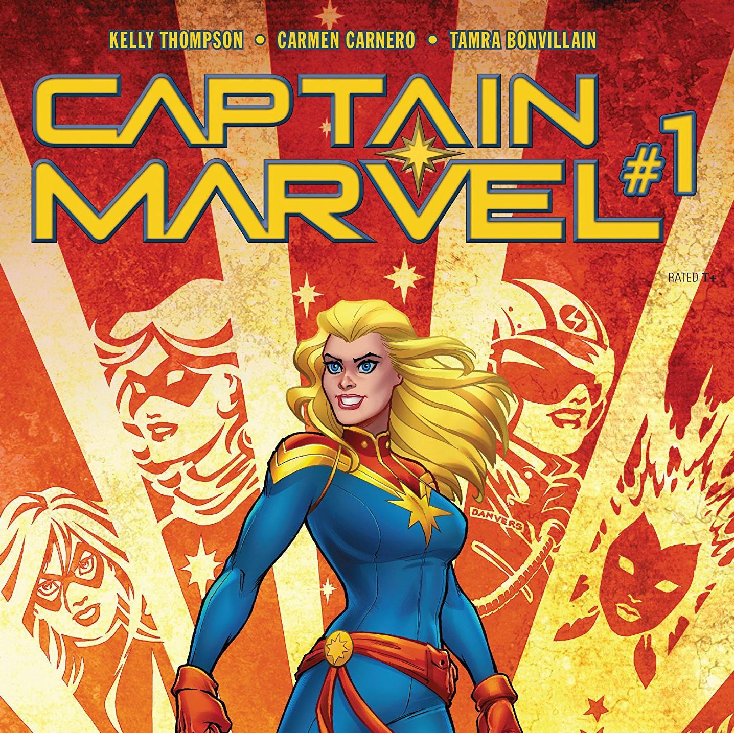 Carol Danvers is back baby 😊
