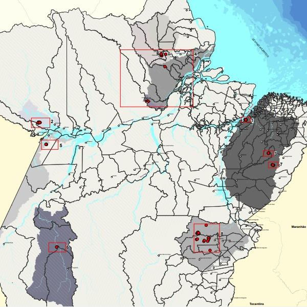 Autoridades e especialistas estão em alerta com situação de barragens no Pará