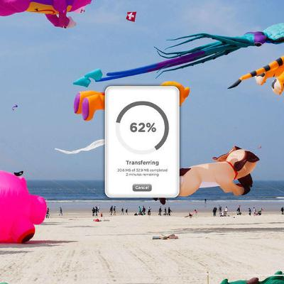 Optimalisatie van een filesharing service (WeTransfer)