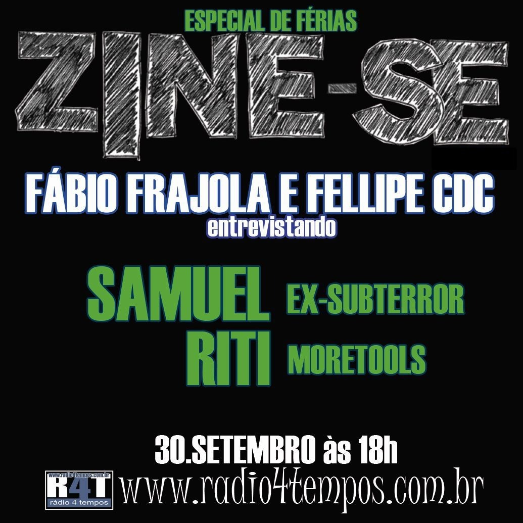 Rádio 4 Tempos - Zine-se 70