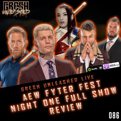 AEW FYTER FEST 2020 NIGHT ONE FULL SHOW RESULTS & REVIEW   GRESH UNLEASHED 086