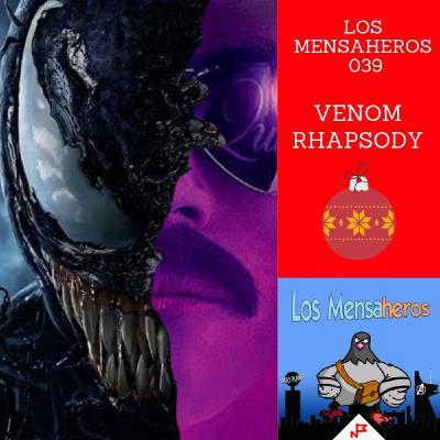 Los Mensaheros 039 Venom Rhapsody y SuperLópez @losmensaheros