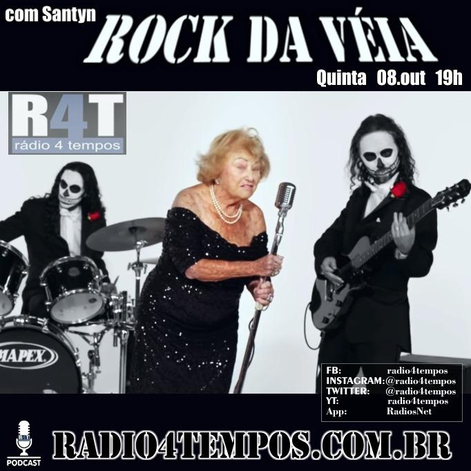 Rádio 4 Tempos - Rock da Véia 87:Rádio 4 Tempos