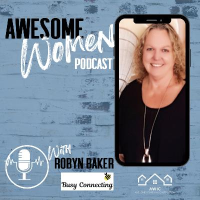 Robyn Baker, Founder of Busy Connecting #theboringwriter
