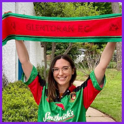21: The Queen of East Belfast - Morgan Day, Oklahoma, USA - Glentoran FC, Northern Ireland.