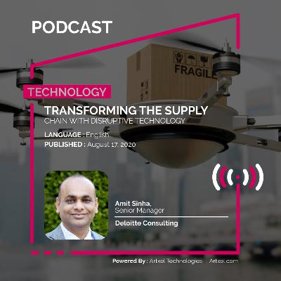 96. Transforming the supply chain with disruptive technology