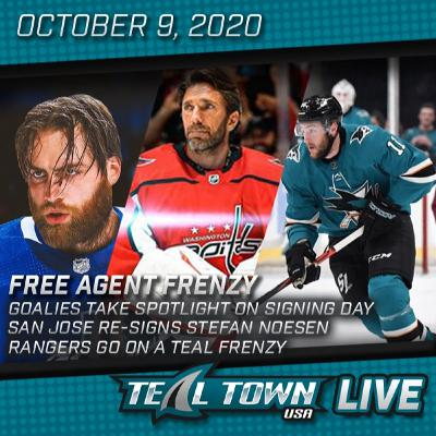 Free Agent Frenzy Recap - Teal Town USA Live - 10-9-2020