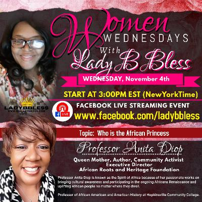 #14 November 4, 2020 - (Professor Anita Diop) Women Wednesdays