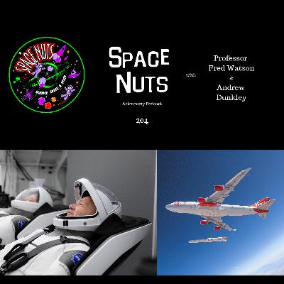 NASA, SpaceX and Virgin Orbital