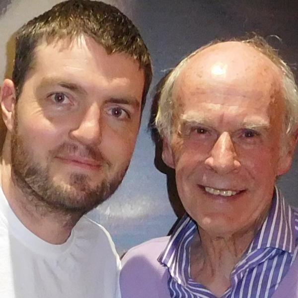 John Hannam Meets Tom Burke