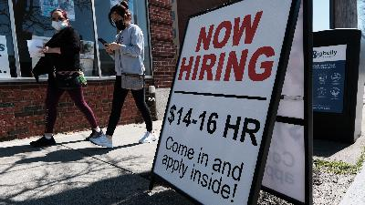 Wait, the U.S. economy only added how many jobs?