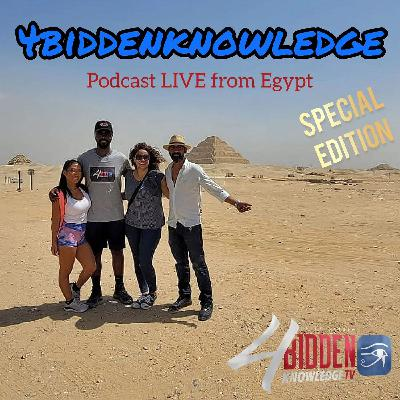 Billy Carson Live From Egypt With Egyptologist Shahenda Adel and Mohamed Gamall
