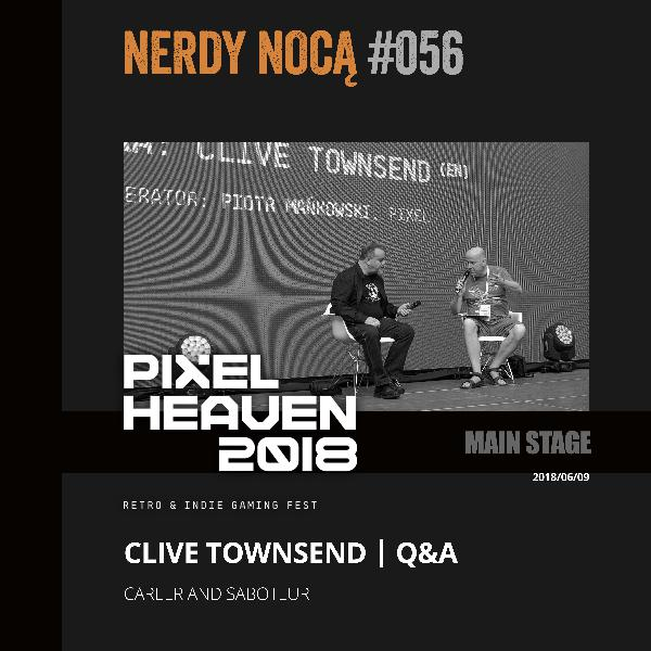 #056 Clive Townsend @ Pixel Heaven 2018 (eng)