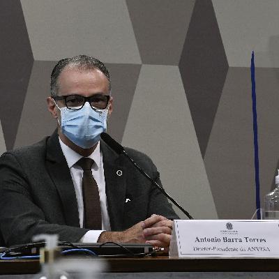 Presidente da Anvisa na CPI; paralisação na vacinação de gestantes; e ataques na Faixa de Gaza