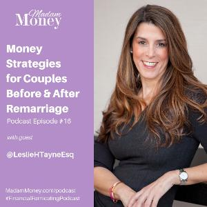 #16 - Money Strategies for Couples Before And After Remarriage