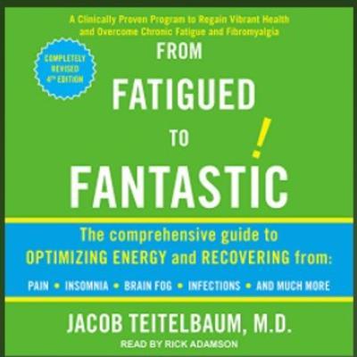 Dr. Jacob Teitelbaum ~  CNN, Dr. Oz,  Talks Maximizing Energy, Curbing & Enjoying Your Holiday Sweet Tooth!!