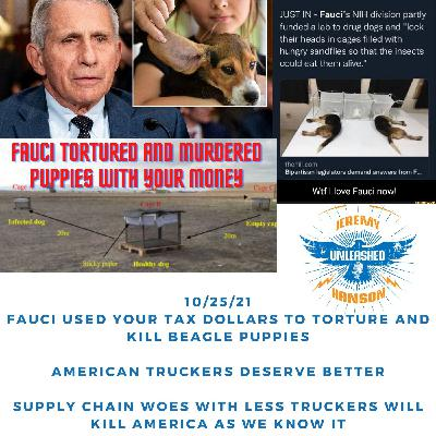 OUTRAGE  Dr. Fauci used your American tax dollars to torture and murder beagle puppies in 3 different labs!