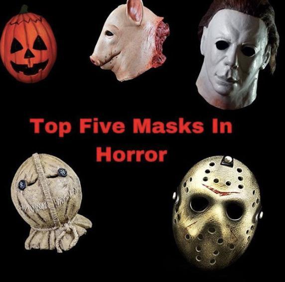 Top Five Masks In Horror