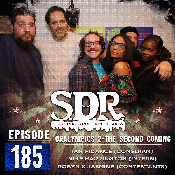 Ian Fidance, Mike Harrington, Robyn & Jasmine (Comedian, Intern, Contestants) - Oralympics 2 - The Second Coming
