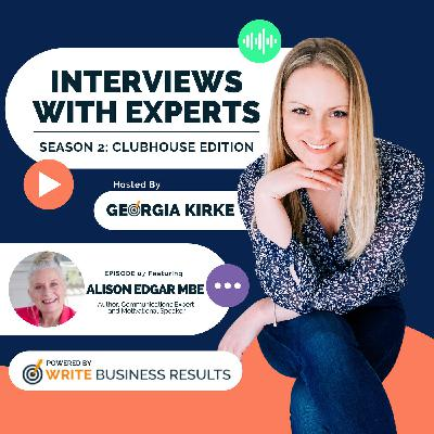 How To Get What You Want with Alison Edgar MBE