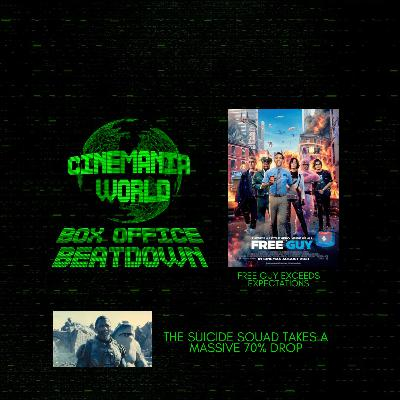 """Box Office Beatdown """"Free Guy Exceeds Expectations While The Suicide Squad Plummets"""""""