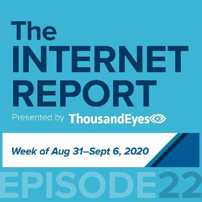 Ep. 22: Even the Internet Enjoys a Long Weekend; Plus, Digging Into a Recent CDN Outage (Week of Aug. 31- Sept. 6)