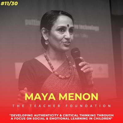 Soulful स्कूल | Session 11 | Maya Menon - The Teacher Foundation, Bengaluru