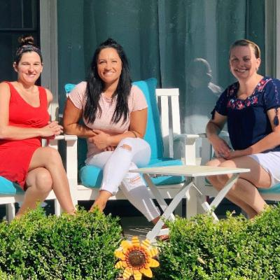 "Porch Talk: Three Friends Discuss ""Coping"" During #PANDEMIC (while raising children/pregnancy)"