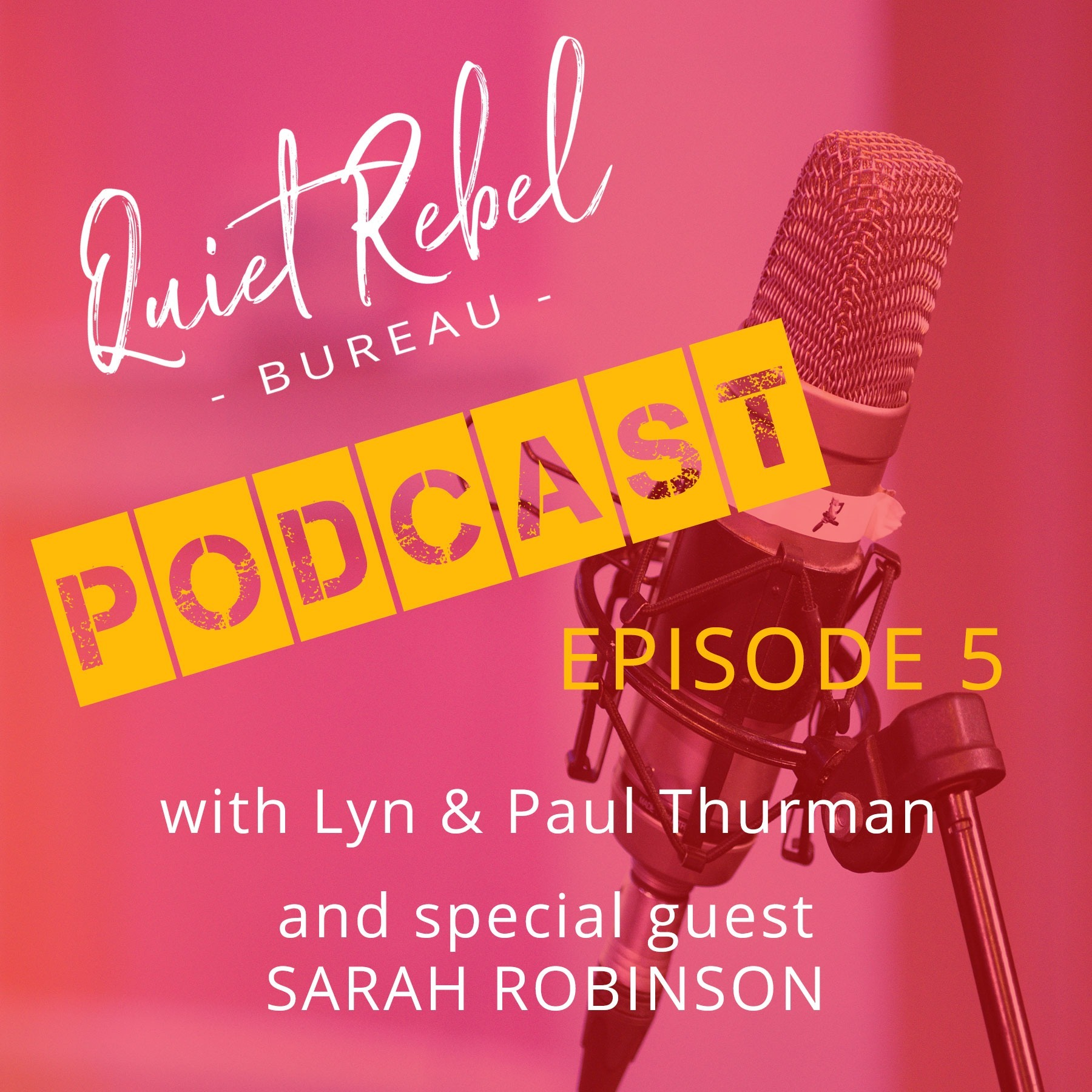 Quiet Rebel Bureau Interview With Sarah Robinson