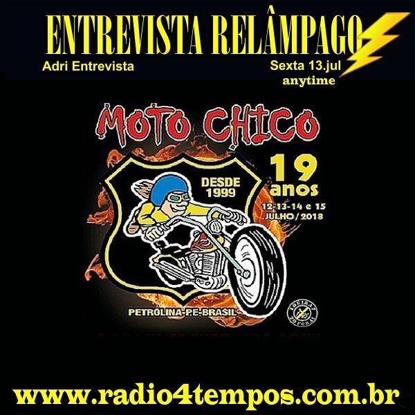 Rádio 4 Tempos - Entrevista Relâmpago 35