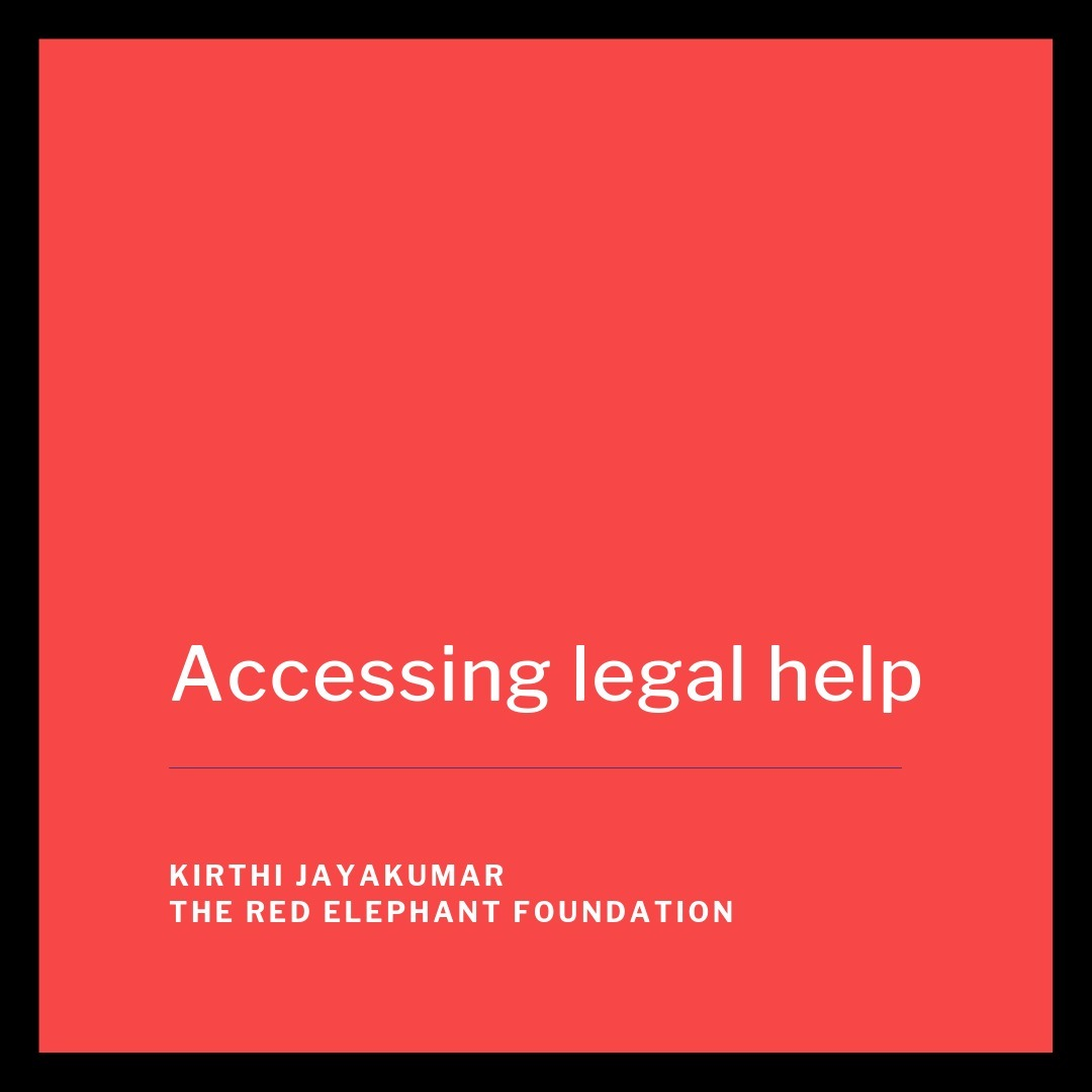 Episode 19 - Accessing Legal Help