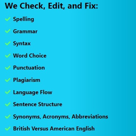 Proofreading Services   English Proofreading Online   Papers