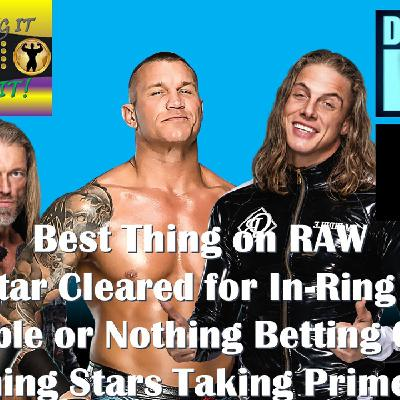 The Best Thing On RAW - AEW Double Or Nothing Odds