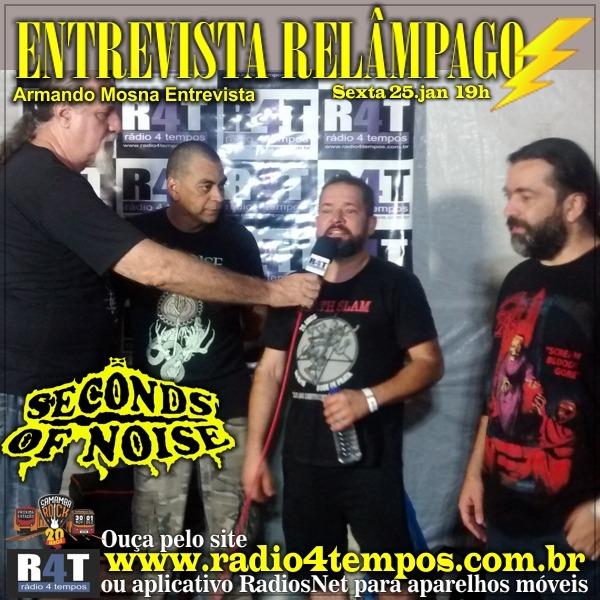 Rádio 4 Tempos - Entrevista Relâmpago 45
