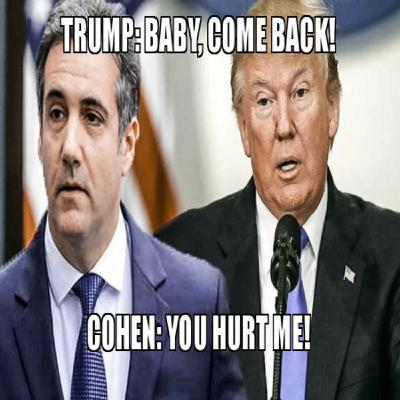 The bitter breakup of Cohen and Trump