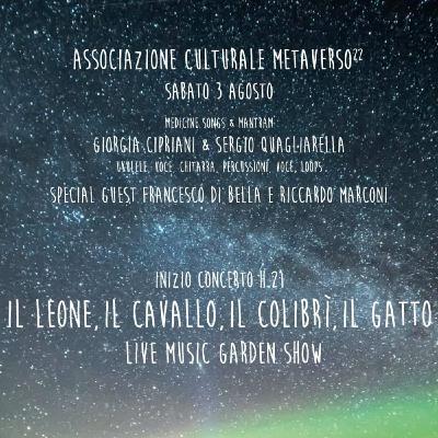 RADIACTION IN TOUR - IL LEONE, IL CAVALLO, IL COLIBRI' , IL GATTO @METAVERSO 22