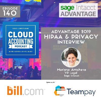 HIPAA, privacy, and accountants 🎙 Live at Sage Intacct Advantage