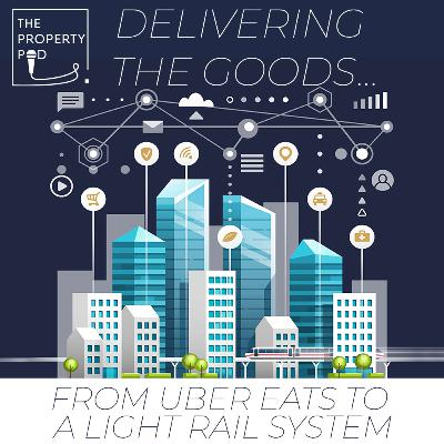 Delivering the goods... From Uber Eats to a Light Rail system