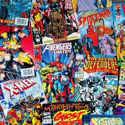 Мир комиксов. #3. Америка