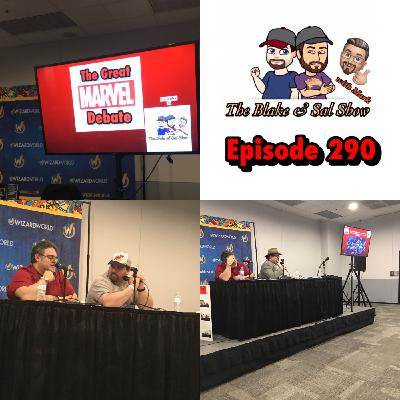 Episode 290: The Great Marvel Debate (Wizard World Madison Live Show)