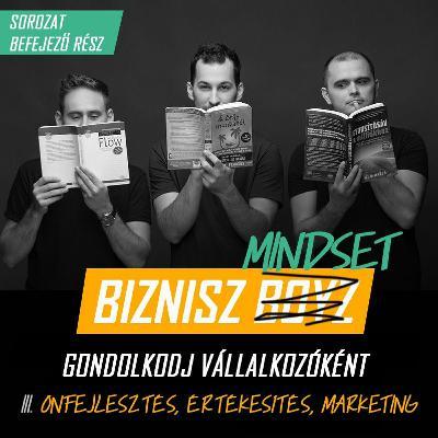 Biznisz Mindset III. - Értékesítés, marketing és önfejlesztés vállalkozóként | Biznisz Boyz Podcast