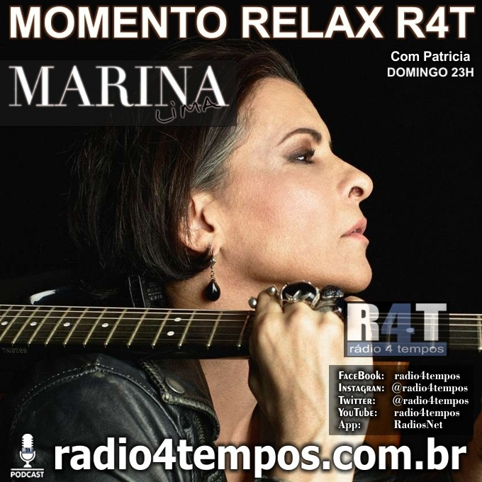 Rádio 4 Tempos - Momento Relax Marina Lima:Rádio 4 Tempos