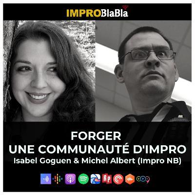 Forger une communauté d'impro (Improvisation NB - Nouveau-Brunswick)