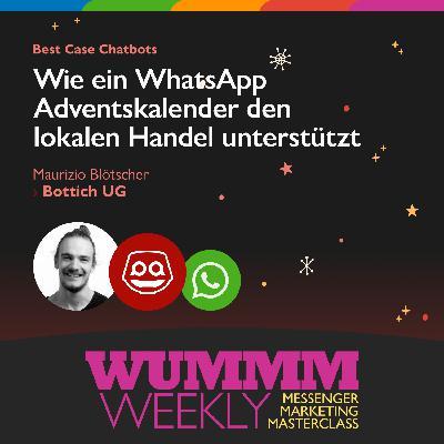 Maurizio Blötscher - Wie hilft ein WhatsApp Adventskalender dem lokalen Handel?