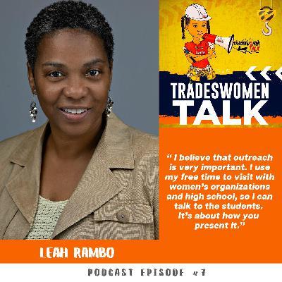 Diversity Implementor, Local 28 Training Director Leah Rambo.