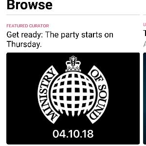 Ministry of Sound Apple Music exclusive playlists