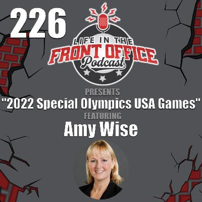 2022 Special Olympics USA Games with Amy Wise, Chief Development and Marketing Officer