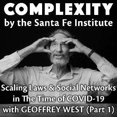Scaling Laws & Social Networks in The Time of COVID-19 with Geoffrey West (Part 1)