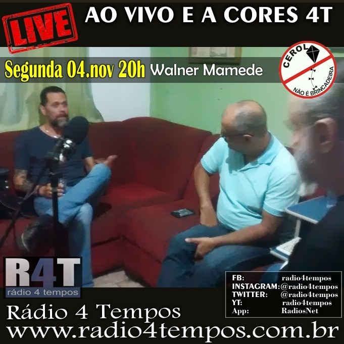 Rádio 4 Tempos - Ao Vivo E a Cores 63:Rádio 4 Tempos
